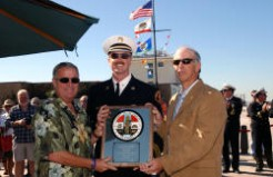 Rededicating the new Hermosa Beach Pier and Lifeguard Headquarters